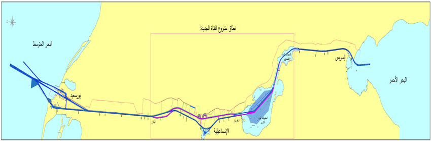 Suez Canal On Africa Map.Sca About Suez Canal