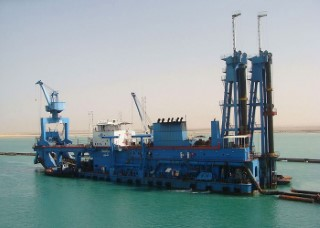 Dredgers of the Suez Canal Authority